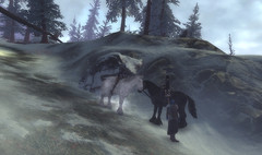 cheval fantomatique