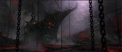 Concept Art Aurore Infernale patch 1.8 - Conceptartauroreinfernale lava boat