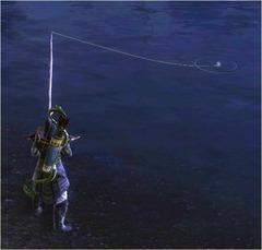 Pêche attente