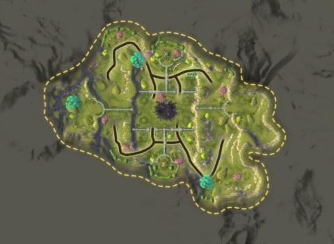 Carte Jardin Noir