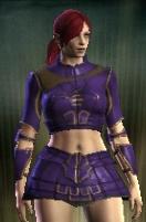 Teinture violet