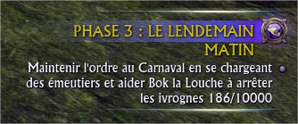 Objectifs serveur Phase 3 Carnaval