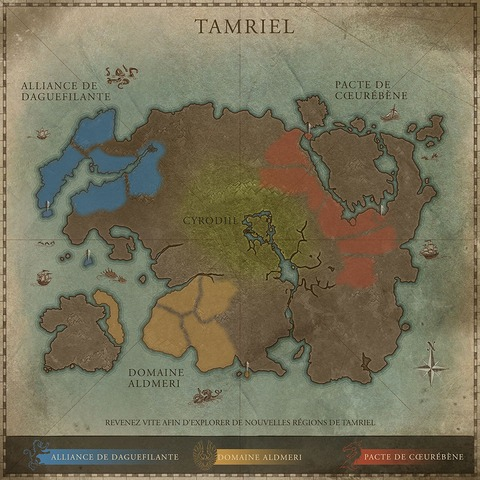 L'exploration de Tamriel n'est pas finie