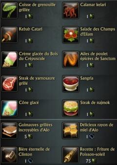 Nourritures event 1.9