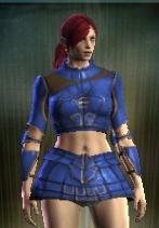 teinture bleue