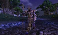 Le Warlock sort de l'ombre