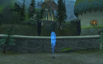 La pierre des Gardiens.
