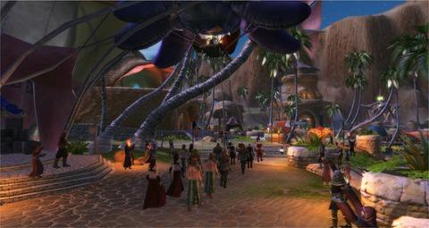 Une Parade d'Akylios à Rivage de Fortune