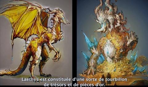 Concept art de Laethys pour le raid Aurore Infernale