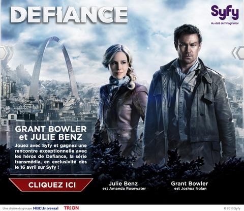 Rencontrez Grant Bowler et Julie Benz, les héros principaux de la série