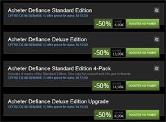 Defiance à -50% sur Steam : le jeu de base à (très) petit prix