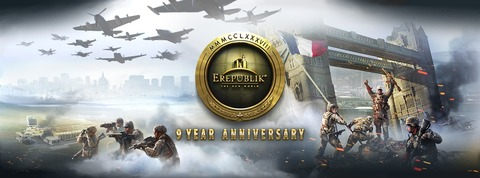 eRepublik fête ses neuf ans d'existence