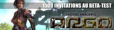 1500 invitations au bêta-test d'Argo Online