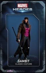Gambit est de sortie sur Marvel Heroes