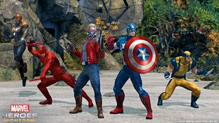 C'est parti pour la bêta de Marvel Heroes Omega sur PlayStation 4