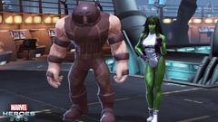 Le Fléau s'élance dans Marvel Heroes