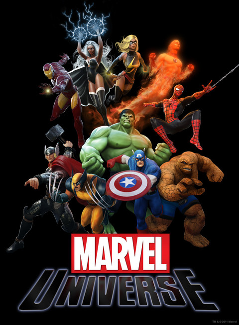 Première image de Marvel Universe