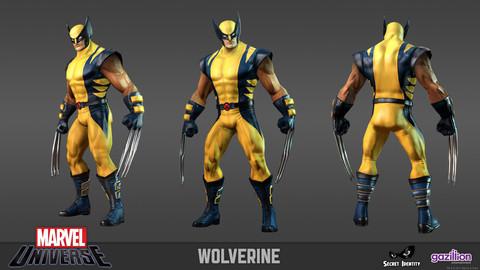 Wolverine s'illustre dans Marvel Universe