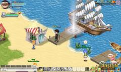 Voyage en Terre Elfique - Un port