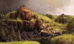 Les anciennes ruines