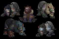 Cataclysm: formes de druide worgen (ours)