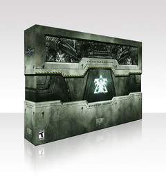Packaging de l'édition Collector de StarCraft II