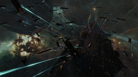EVE Online - 6000 joueurs pour la (non) bataille de 9-4RP2 sur EVE Online