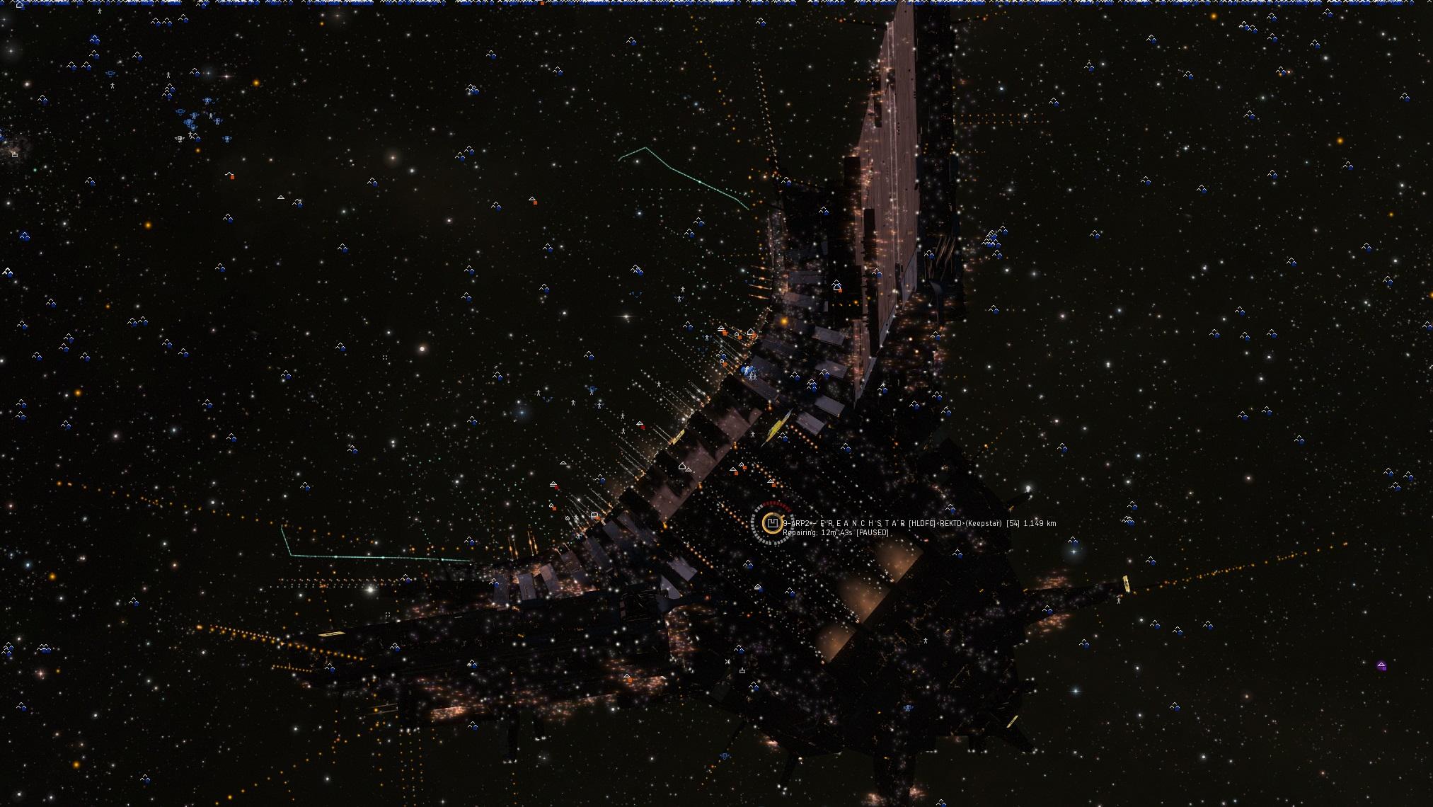 Populaire EVE Online - 6000 joueurs pour la (non) bataille de 9-4RP2 sur EVE  VZ65