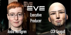 """Andie """"CCP Seagull"""" Nordgren à la tête d'EVE Online"""