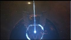 Construction de la première citadelle Keepstar sur EVE Online