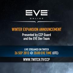La prochaine extension d'EVE Online dévoilée le 26 septembre
