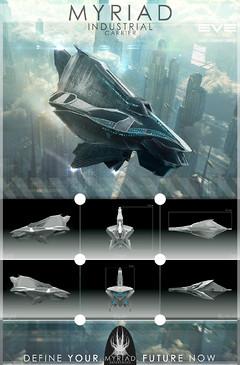 Myriad industrial carrier (création de joueur)