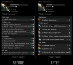 Changement UI