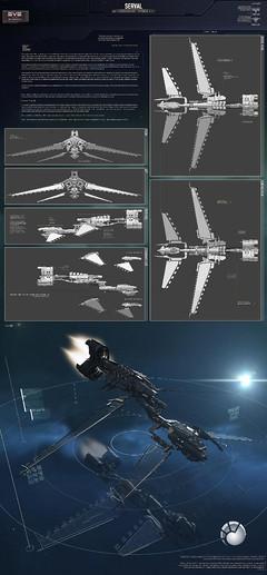 Serval Battlecuiser (création de joueur)