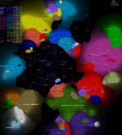 Map Politique de Février 2012