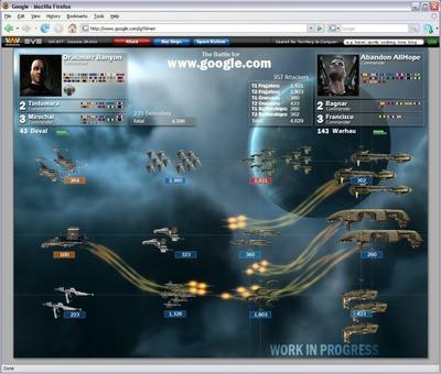 WebWars: Eve, quand CCP pousse le jeu par navigateur un cran au dessus
