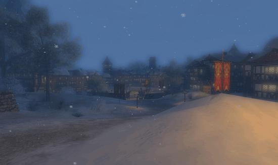 Bree sous la neige et la domination des serviteurs de Sharcoux
