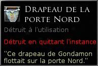 Drapeau de la porte Nord