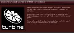 Turbine s'associe à Twisted Pixel pour un MMO sur console ?