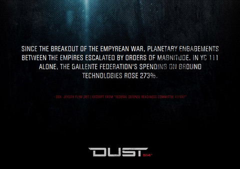 Un site officiel pour Dust 514