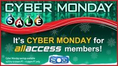 Membres All-Access, faites des économies ce lundi