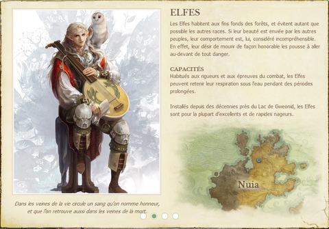 Trion présente les races de Archeage