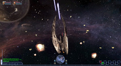 Cap à l'ouest avec BattleStar Galactica Online