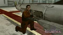 Les personnages de la série dans le MMO BattleStar Galactica