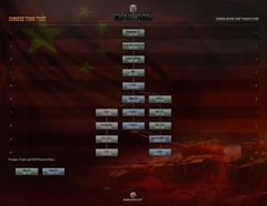 Avant-première des chars chinois
