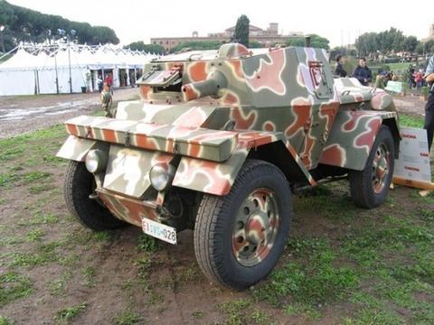 Blindato-Lancia Astura Lince 2008-Small