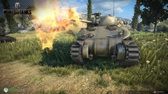 Capture d'écran de la version Xbox One de World of Tanks