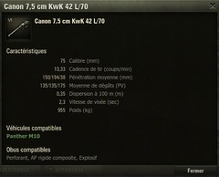 Canon du Panther M10