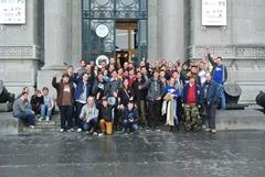 Soirée communautaire à Bruxelles