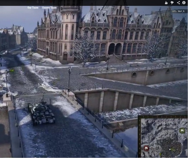 Un coin de Belgique dans World of Tanks